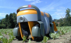 Работа на земле – робот заменяет человека