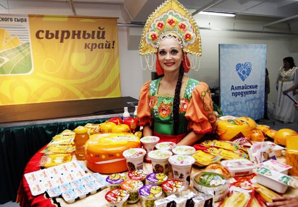 Фестиваль российских сыров