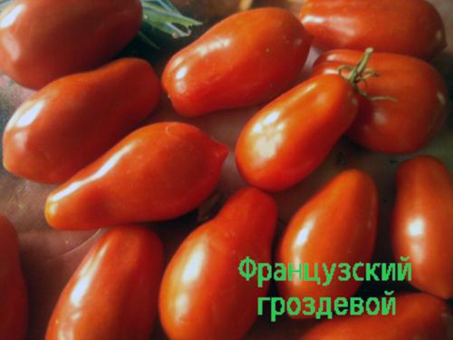 """Томаты """"Французский гроздевой"""" универсальны в применении"""