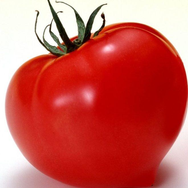 """Плоды томатов """"Большая мамочка"""" крупные"""