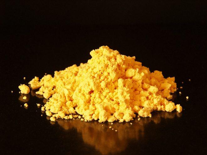 Вакцина ЛА-СОТА похожа на желтый порошок