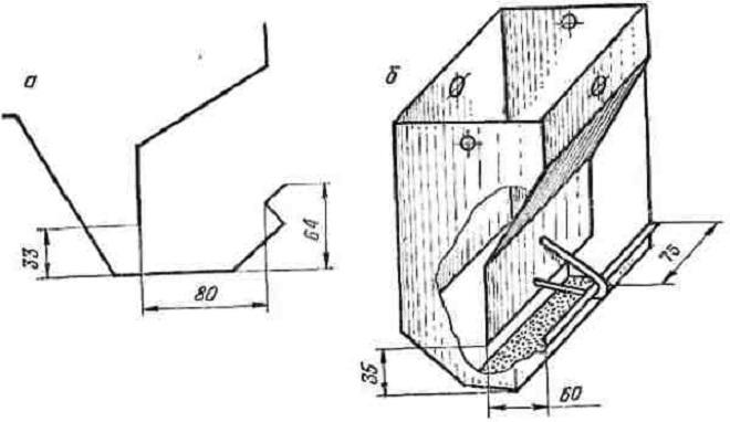 Простая схема бункерной кормушки