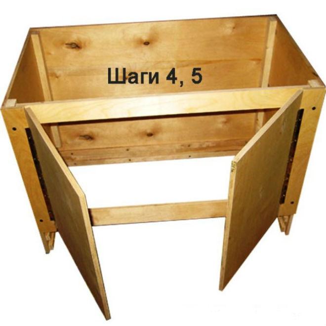Конструирование брудера, этапы 4 и 5