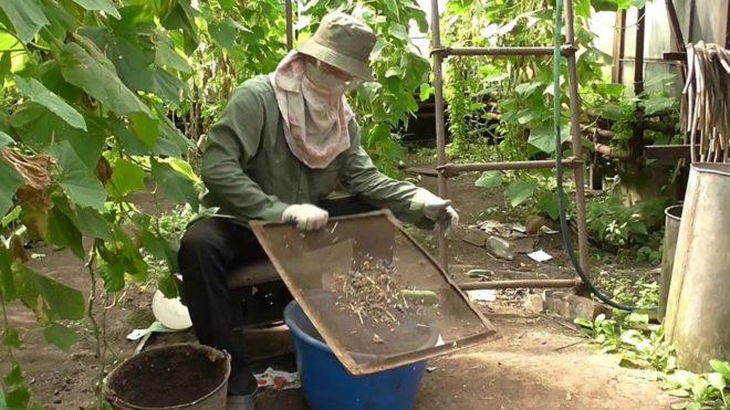 Изготовление органического удобрения
