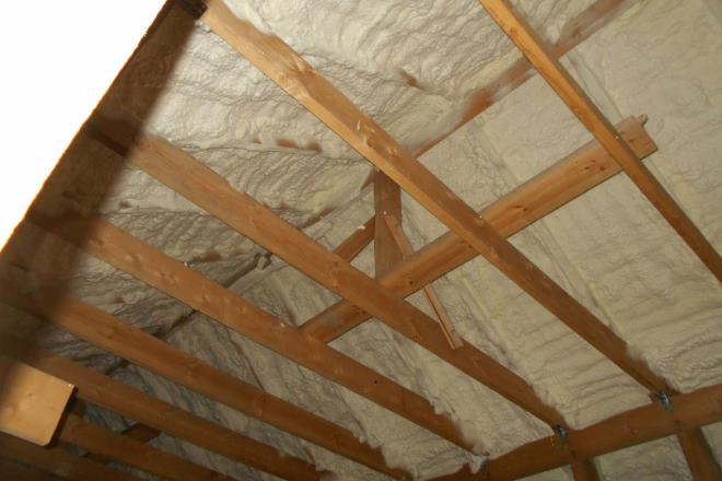 Утепление крыши делается специальными материалами