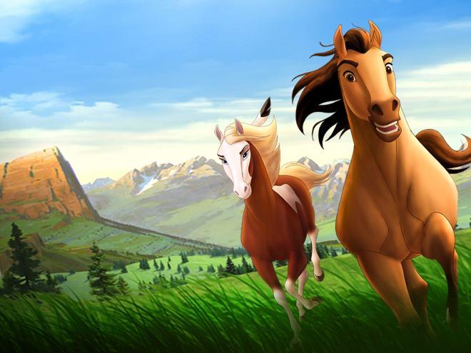 """Масть этой лошади использовалась в создании мультфильма """"Спирит"""""""