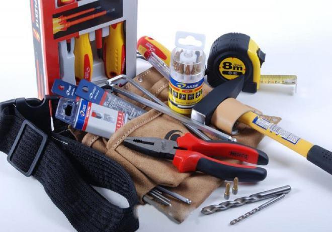 Для любой постройки нужен набор инструментов